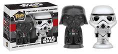 POP! Home: Salt & Pepper Shakers: Star Wars: DARTH VADER & STORMTROOPER