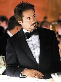 Snarky, smart and a goatee. I suppose there's worse things in the world. I love you Tony Stark!!!