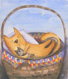 Кошкино лукошко (The cat's pottle)