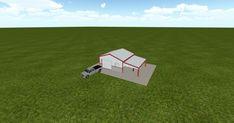 Cool 3D #marketing https://ift.tt/2H7JStQ #barn #workshop #greenhouse #garage #roofing #DIY