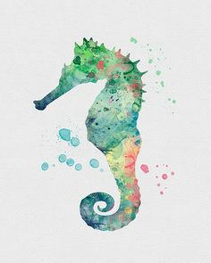 Seepferdchen Aquarell Kunst mehr The post Seepferdchen appeared first on Bestes Soziales Teilen. Watercolor Animals, Watercolor Cards, Watercolor Paintings, Watercolor Ideas, Watercolors, Art Graphique, Watercolor Techniques, Art Plastique, Painting Inspiration