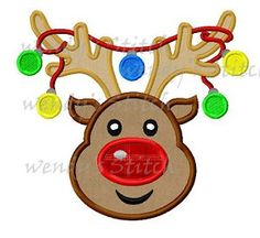Hey, I found this really awesome Etsy listing at https://www.etsy.com/listing/169732250/christmas-reindeer-ornament-lights
