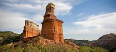 """""""It is a burning, seething cauldron, filled with dramatic light and color."""" Georgia O'Keeffe, speaking of Palo Duro Canyon"""