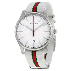 Gucci Men's YA126322 'G-Timeless' green and red Watch