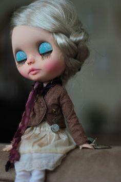 Poupée Blythe Custom Helena.Ooak Plus