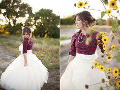 flannel wedding dress? i think i really like that.