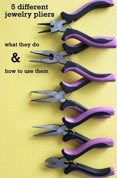 84689d9277ab how to use jewelry pliers  beadedjewelryideas Herramientas Bricolaje