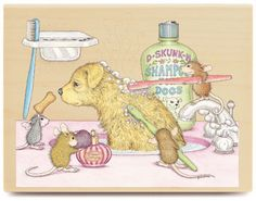 Soggy Doggie - HMOR1038 - The Official House-Mouse Designs® Web Site