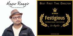 """Mayur Ramgir won the """"Best First Time Director Award"""" in Festigious International film festival"""