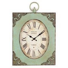 Antiqued Mariam Wall Clock   # Kirkland's #Pinitpretty