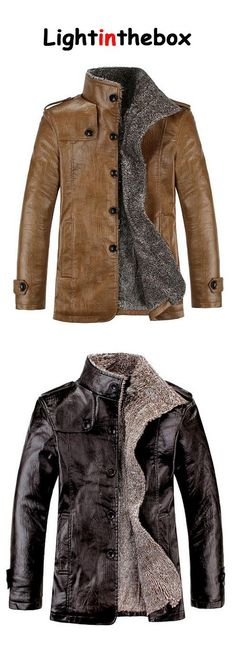 Men's Office/Career Other Stage Formal Street Elegant & Luxurious Winter Fur Coat