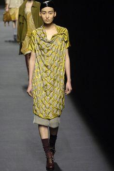 dries van noten...love the silk dress only.