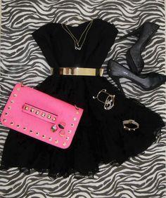 Black dress never fails