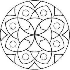 mandala.....also would be beautiful in felt with beading & embroidery