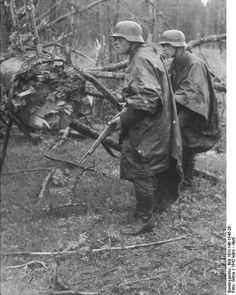German soldiers. 1942. [Bundesarchiv]