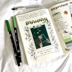 bujo, study inspiration, and bullet journal afbeelding Bullet Journal Book, Bullet Journal Planner, Bullet Journal Aesthetic, Bullet Journal Spread, My Journal, Bullet Journal Inspiration, Journal Pages, Study Inspiration, Journal Ideas