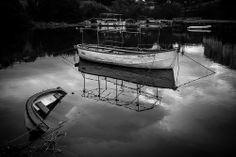 Río Mandeo - Betanzos by Dani Vazquez on Great Photos, Explore, Black And White, Fotografia, Exploring