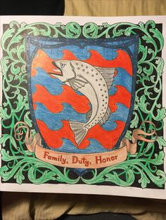 #familydutyhonor #gameofthrones #coloringbook