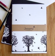 Tree Notebooks - Set of 2