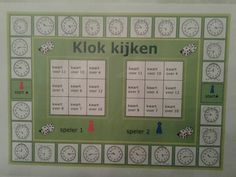 Impressive Werkblad Klokkijken Kwart Over that you must know, You're in good company if you're looking for Werkblad Klokkijken Kwart Over Teaching Time, Teaching Math, Math Clock, Experiment, School Items, Math Numbers, Too Cool For School, School Hacks, Elementary Math