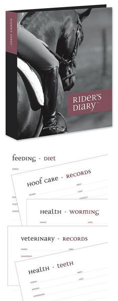 For the rider who likes to keep themselves organised, the Riders Diary is a great gift for any horse owner.