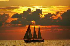 Sunset en Clearwater Beach