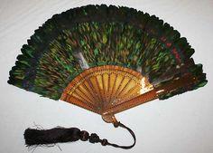 Fan, late 1880's, American or European