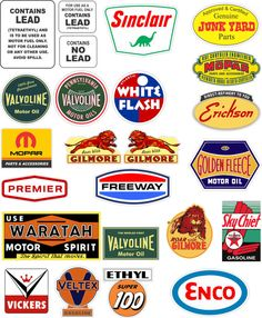 4 Vintage Style Texaco Fire Chief Gasoline Gas Decal - The Best or 100% refund…