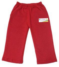 Art 1124 Pantalon de frisa con bolsillos Talles: 2-4-6  8-10-12  $200 Color: Rojo Tela: Frisa