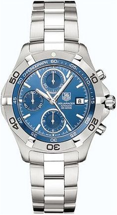 SALE TAG Heuer Men's CAF2112.BA0809 2000 Aquaracer Automatic Chronograph Watch