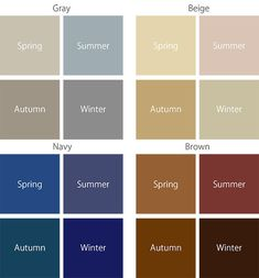 【アタンドル】パーソナルカラー/パーソナルデザインさんはInstagramを利用しています:「#パーソナルカラー:#ベーシックカラー の選び方 #イエローベース の方は、少し黄みがかったウォームグレーから選んでください。 ネイビーは、オータムの方は少し緑がかった落ち着いた色を、スプリングの方は明るめの紺だと他の色とも合わせやすいのでおススメです。 #ブルーベース…」