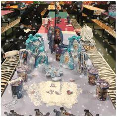 Frozen themed birthday display