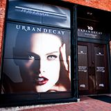 Urban Decay product launch after party.