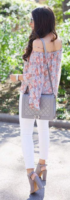 Springtime Top Outfit Idea by The Sweetest Thing