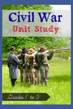 Civil War homeschool unit study | Creekside Learning