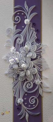 Quilled Ornament ~ Neli Quilling Art