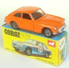 Corgi MG