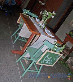 Decoração da mesa dos noivos #casamento #miniwedding #rústico