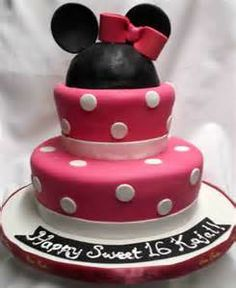 Minnie Mouse Ren Cakes The