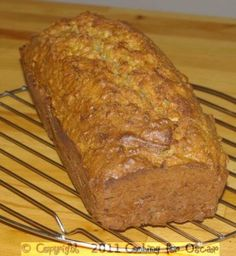 Carrot Zucchini and Apple Loaf Mod sals. has the potential to be nice toasted