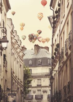 Flying Over Paris Poster by Irene Suchocki at AllPosters.com