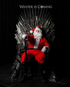 BAHAHAHAHAHAHAHA YESSS. Winter is coming! @GameofThrones