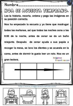 30 textos cortos para trabajar la comprensión lectora - Imagenes Educativas Dental Kids, Spanish Activities, Dual Language, Sight Words, Reading Comprehension, Phonics, Classroom, Teaching, Writing
