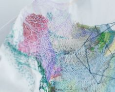 embroidery works by Yumiko Arimoto