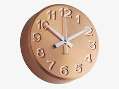 Combine function and style with our favourite wall clocks plus other decorating ideas from Red Online. Copper Blush, Best Wall Clocks, Urban Trends, Lifestyle Trends, Color Of The Year, Cool Rooms, Home Accessories, Retro, Luxury