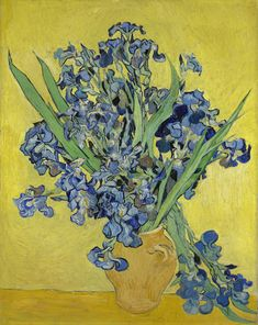 Irises,  Saint-Rémy-de-Provence, May 1890, Vincent van Gogh (1853 - 1890), oil on canvas, 92.7 cm x 73.9 cm, Van Gogh Museum, Amsterdam (Vincent van Gogh Foundation)