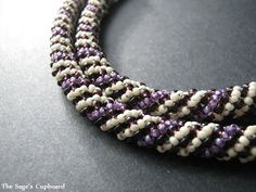 Grape Vanilla Russian Spiral Rope