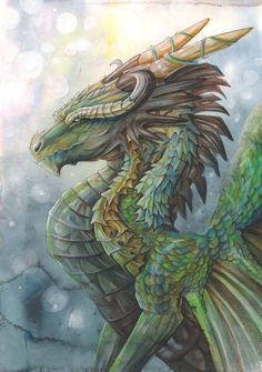 River Dragon by dawndelver - My Enchantments