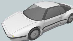 Aerodynamic Car: Coupe 3.3i CD Prototype - 3D Warehouse