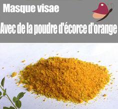 Masque visage avec peau d'Orange